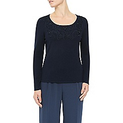 Jacques Vert - Tape Detail Scoop Neck Jumper