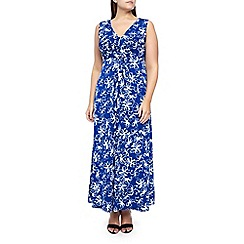 Windsmoor - Ivory flower print maxi dress