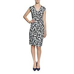 Planet - Navy floral print dress