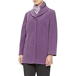 Eastex - Mauve Shawl Collar Coat