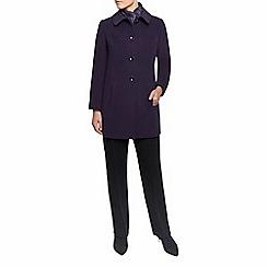 Eastex - Purple Seam Detail Coat