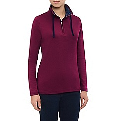 Dash - Plain Funnel Neck Top