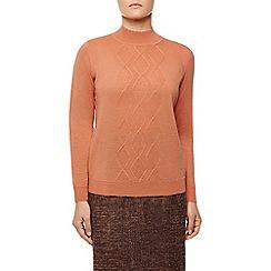 Eastex - Diamond Turtle Neck Sweater