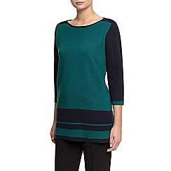 Planet - Colour Block Knit Tunic