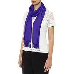 Planet - Violet plain scarf