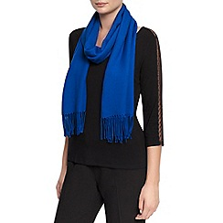 Planet - Admiral Blue Plain Scarf