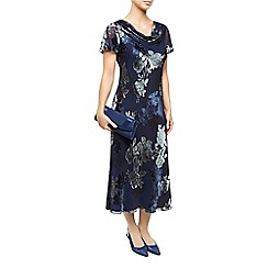 Jacques Vert - Bias Cut Devore Dress