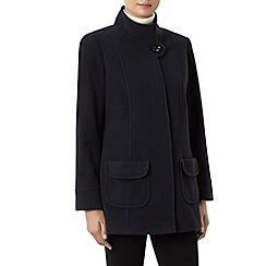 Windsmoor - Navy Funnel Short Wool Coat