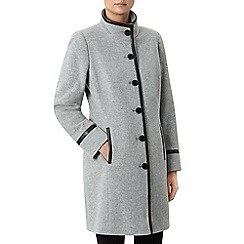Windsmoor - Grey Funnel Mid Wool Coat