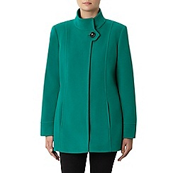 Windsmoor - Green Funnel Short Wool Coat