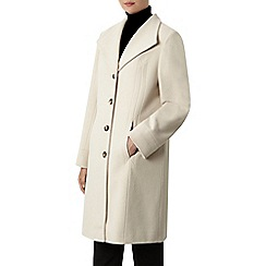 Windsmoor - Winter White Mid Wool Coat