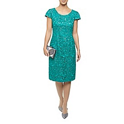 Jacques Vert - Corded Lace Two Tone Dress