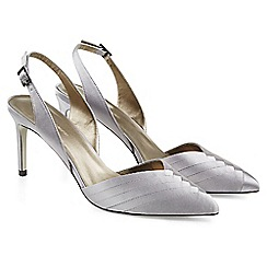 Jacques Vert - Pleated Point Slingback Shoe