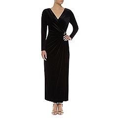 Jacques Vert - Petite Velvet Maxi Dress