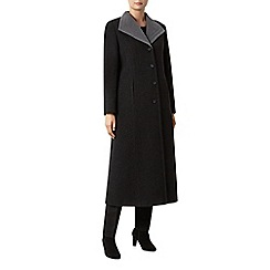 Windsmoor - Charcoal/Smoke Long Wool Coat
