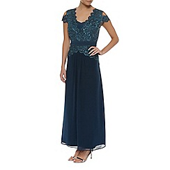 Jacques Vert - Petite Chiffon Lace Maxi Dress