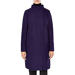 Planet - Purple Boucle Coat