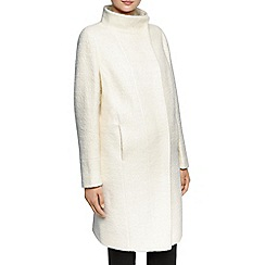 Planet - Ivory Boucle Coat