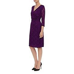 Kaliko - Lace Rouched Waist Shift Dress