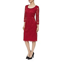 Precis Petite - Red Lace Dress