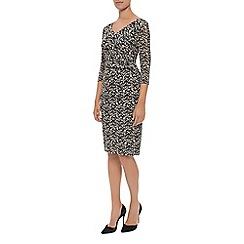 Kaliko - Contrast Lace Jersey Dress