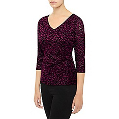 Kaliko - Contrast Lace Top