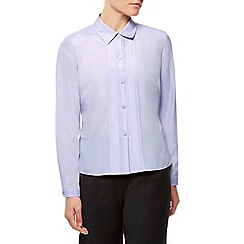 Eastex - Lilac Box Pleat Blouse