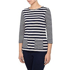 Dash - Stripe Jersey Top