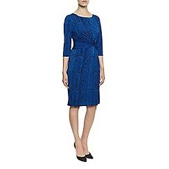 Planet - Textured Print Jersey Dress
