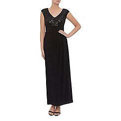 Kaliko - Sequin And Jersey Maxi