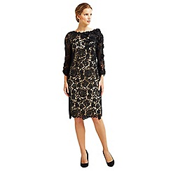 Jacques Vert - Long Sleeved Lace Embellished