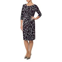 Eastex - Stencil Rose Twist Front Dress
