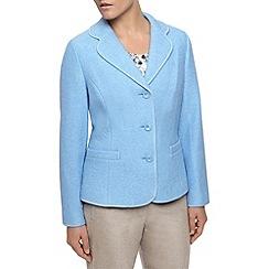 Eastex - Blue Boiled Wool Jacket