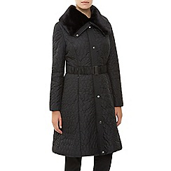 Kaliko - Long Full Skirted Nylon Coat