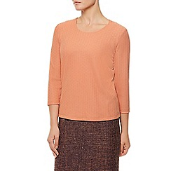 Eastex - Clementine Sleeve Pique Top