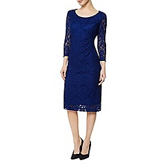 Precis Petite - Imperial Blue Lace Dress