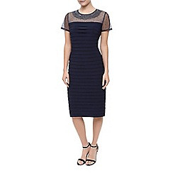 Precis Petite - Pleated Jersey Dress