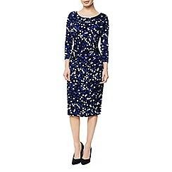 Precis Petite - Spot Print Jersey Dress