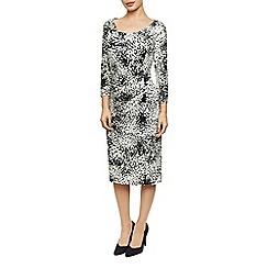 Precis Petite - Tonalspot Print Jersey Dress