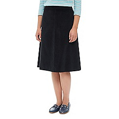 Dash - Panelled Cord Skirt Mid