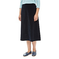 Dash - Panelled Cord Skirt Midi
