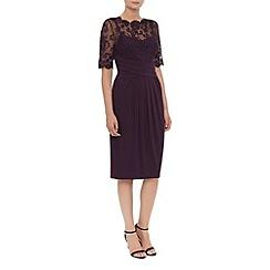 Kaliko - Lace And Jersey Dress