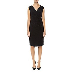 Planet - Black Jersey Wrap Dress