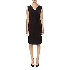 Planet - Black Jersey Wrap Dress