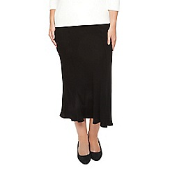 Windsmoor - Black long bias skirt