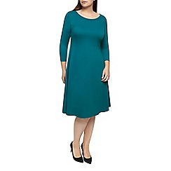 Windsmoor - Teal Skater Dress