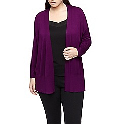 Windsmoor - Fuschia Open Front Cardigan
