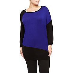 Windsmoor - Cobalt Block Knit Sweater