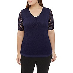Windsmoor - Midnight Lace Jersey Top