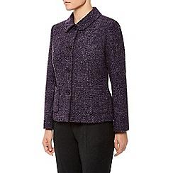 Eastex - Collar & Rever Tweed Jacket